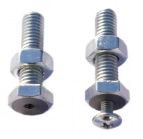 Adjustable screws for the AP aluminium profiles
